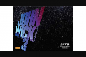 Student Edge – Win an In-Season Double Pass to John Wick