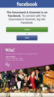 The Gourmand & Gourmet – Win a 10% Discount Coupon Instantly and Go In The Draw to Win One of 3 X $200 Luxocash Vouchers