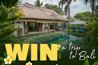The house of wellness – Win a Rejuvenation Program at Sukhavati Bali (prize valued at $16,000)