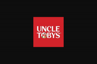 Uncle Toby's – Win One 1 Prize (prize valued at $10,000)