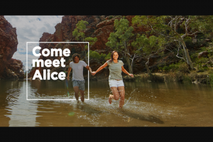 Virgin Australia – Win a Trip to Alice Springs for You and Three Friends Including Four Nights Accommodation (prize valued at $10,522)