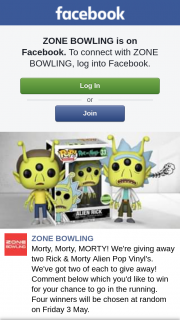 Zone Bowling – Two Rick & Morty Alien Pop Vinyl's