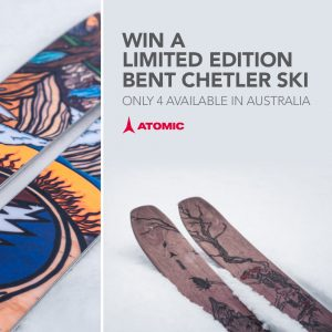 Amer Sports – Win a pair of Bent Chetler Grateful Dead Skis size 184