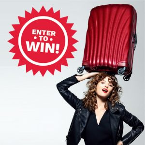 Cruise Passenger – Win a Samsonite Cosmolite luggage set