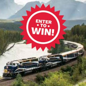 Cruise Passenger – Win an ultimate rail and sail journey for 2 valued at up to $10,000