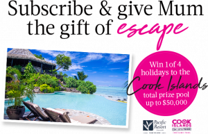 MagShop – Win 1 of 4 prizes of a holiday for 2 to Rarotonga (flights for 2 included)