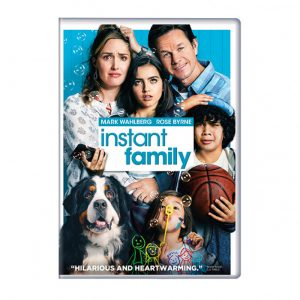 Mind Food – Win 1 of 10 copies of Instant Family on DVD