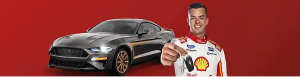 Shell – Win a grand prize of a customised 2019 Ford Mustang valued at over $99,900
