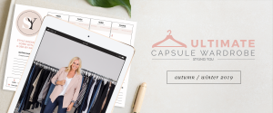 Styling You – Win 1 of 3 autumn-winter 2019 Ultimate Capsule Wardrobe memberships for 6 weeks
