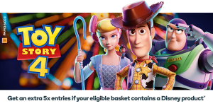 Woolworths Rewards – BIGW Toy Story 4 – Win 1 of 150 prize packs valued at $250 each