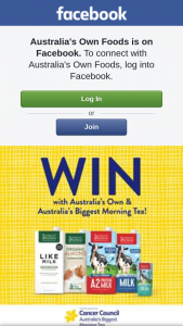 Australia's Own Biggest Morning Tea – Win an Australia's Own Hamper Full of Delicious Goodies (prize valued at $71)