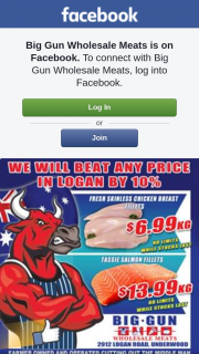 Big Gun Wholesale Meats – Win $100 Voucher