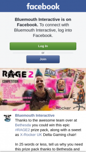 Bluemouth Interactive – Win this Epic #rage2 Prize Pack