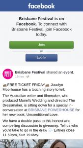 Brisbane Festival – Win a $500 Clothing Voucher