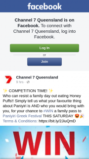 Channel 7 Queensland – Win a Family Pass to Paniyiri Greek Festival this Saturday &#128525&#127881