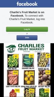 Charlie's Fruit Market – Win 5 Boxes of Fresh Fruit N Veg With Charlie's Bulk Sale .