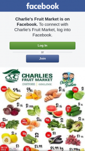 Charlie's Fruit Market – Win $50 Voucher With Charlie's Weekly Specials (prize valued at $50)