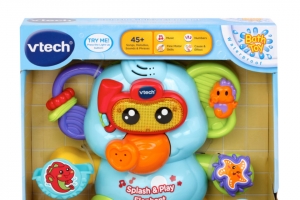 Child Blogger – Win 1 of 3 Vtech Splash & Play Elephant Valued at $24.95 Each (prize valued at $24.95)