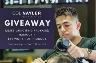 Col Nayler Barber Brisbane – Win a Men's Grooming Package