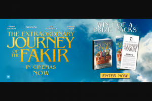 Dendy Cinemas – Win 1 of 4 Prize Packs Which Include
