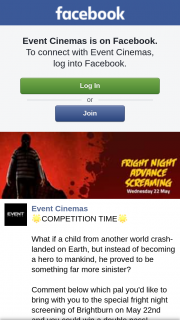 Event Cinemas Coomera – Win a Double Pass