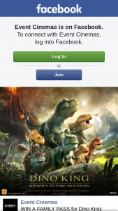 Event Cinemas Loganholme – Win a Family Pass for Dino King