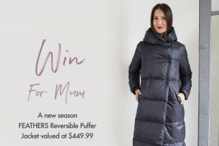 feathersboutique – Win a New Season Feathers Reversible Puffer Jacket Valued at $449.99