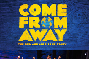 Female – Win a Double Pass to Come From Away Valued at $250 on Tuesday 9 July – 7.00pm at Melbourne Comedy Theatre (prize valued at $250)