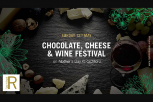 Fox FM 101.9 – Win The Ultimate Chocolate Cheese and Wine Festival Experience (in 25 Words Or Less (prize valued at $1,000)