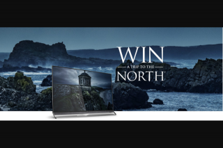 Hisense – Win a Trip to The North (prize valued at $12,100)
