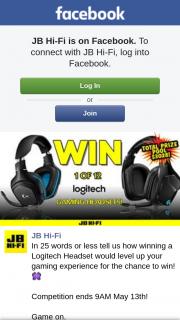 JBHiFi – Win One of 12 Logitech Gaming Headsets