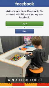 4Kidsnmore – Win this Lego Table