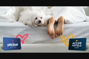 Million Paws Walk – Petcloud – Win One of 4 X $200 Hotel Stay Gift Cards (prize valued at $1,000)