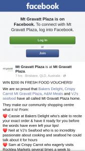 Mt Gravatt Plaza – Win $200 In Fresh Food Vouchers
