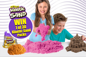 Mum Central – Win 1 X 30 Kinetic Sand (prize valued at $1,455)