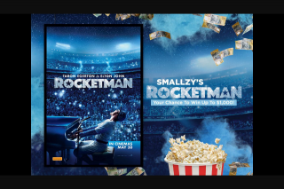 NovaFM Smallzy's Rocketman – Win Up to $1000