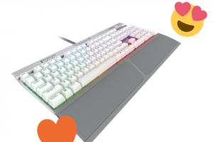 Oasis – a K70 Mk2 Se Keyboard (prize valued at $249)