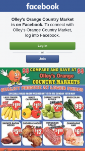 Olley's Orange Country Markets – Win Our Weekly Fruit and Veg Box