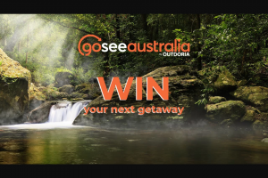 Outdoria-goseeAustralia – Win a $500 Goseeaustralia Voucher (prize valued at $500)