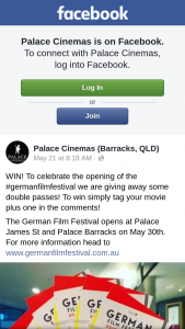 Palace Cinemas Barracks – Some Double Passes