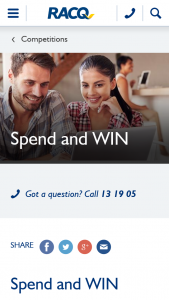 RACQ – Win $3000 Worth of Woolworths Wish Gift Cards (prize valued at $5,000)