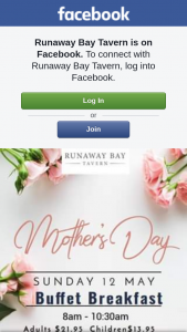 Runaway Bay Tavern – 5 X 1 Adult Mother's Day Buffet Tickets