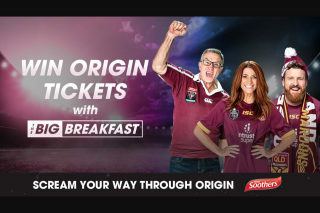 SCA Triple Brisbane – Win Origin Tickets With Marto