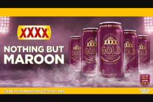SCA Triple M – Win The Ultimate Xxxx Maroons Supporter Pack