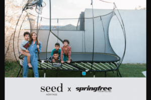 Seed Heritage-Springfree Trampolines – Win Up to $2984 Worth of Prizes (prize valued at $2,984)