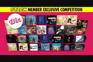Stack Magazine – Win The Ultimate Elton John Cd and Vinyl Collection
