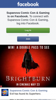 Supanova – Win a Double Pass to See #brighTBurn