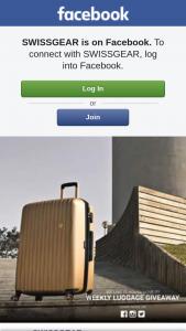 SWISSGEAR – Win a Set of Swissgear Luggage Complete The Following