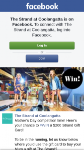 The Strand at Coolangatta – Win a $200 Strand Gift Card (prize valued at $200)