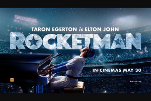 The West Australian – Win 1 of 50 Double Passes to See Rocketman